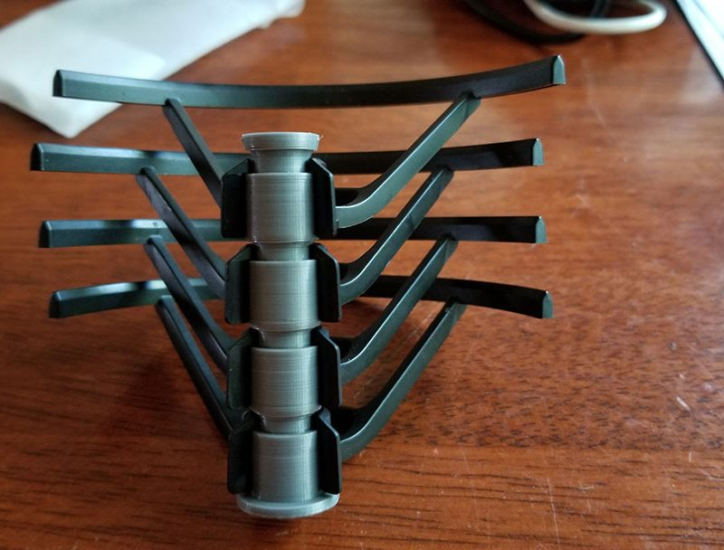 DJI Tello 3d Printed Prop Guard holder by JasperPrints