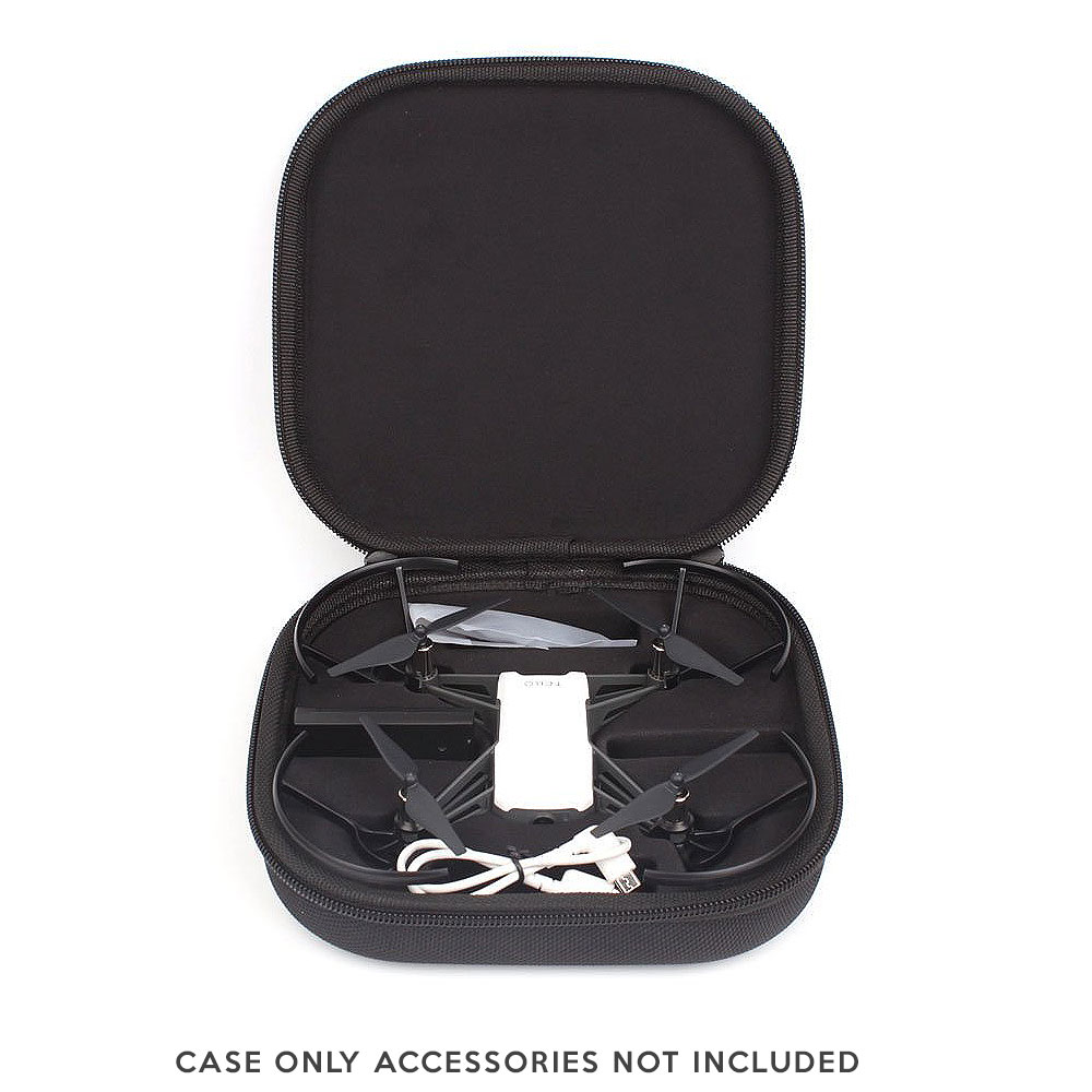 Hard Shell Slim Case for DJI Tello Drone by: Fstop Labs