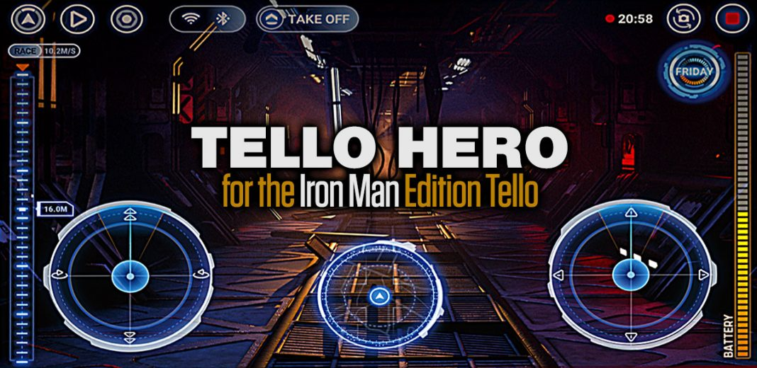 Tello Hero App Iron Man Edition