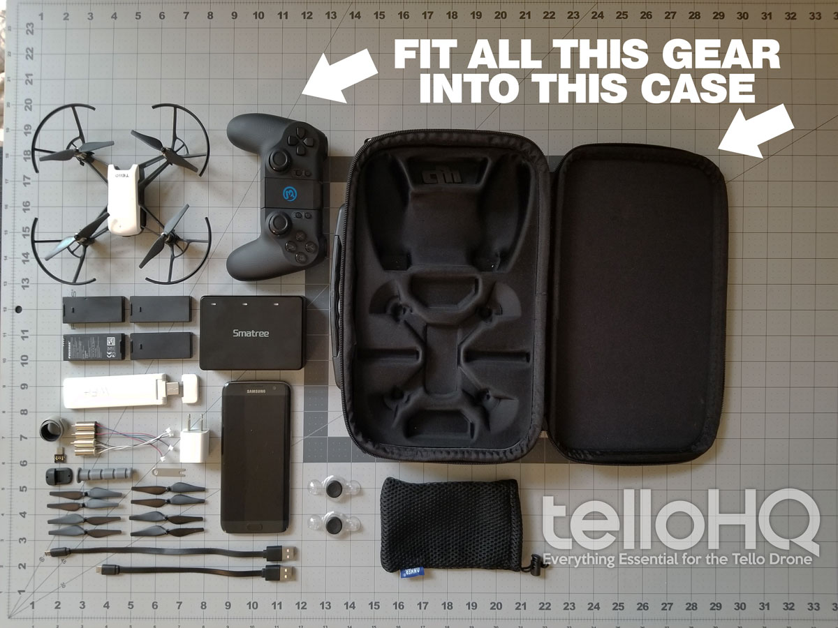 The BEST Slim Tello Carry Case [review] - Tello HQ