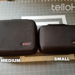 HermitShell Goggle Case SMALL - Size Comparision to the MEDIUM - Tello HQ