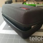 HermitShell Goggle Case SMALL - Shown Holding the 2015 Galaxy Gear - Tello HQ
