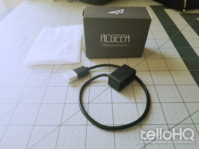 RC Geeks Tello Charger Cable