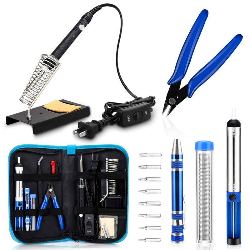 Anbee Soldering Iron Deluxe Kit 60w - Tello HQ